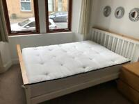 Double Bed and Mattress - Sold Together or Separately