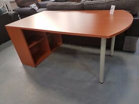 Brand New Heavy Duty Cherry Desk. Brilliant Sturdy Desk For Only £39. Already Built & Can Deliver