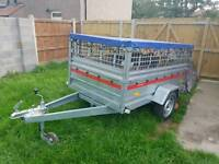 Trailer with canopy