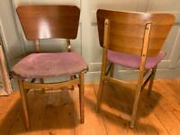 Dining chair set of 4 mid century G plan