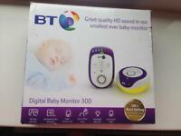 BT digital baby monitor 300 in box
