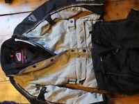 Hein Gericke Ladies textile gortex two piece suit £150.00 ono