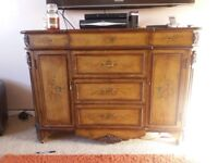 Antique style sideboard.