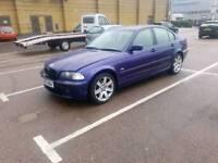 BMW 3 SERIES 2001 SALOON. STUNNING! PART BLACK LEATHER INTERIOR. TAX & GREAT MOT