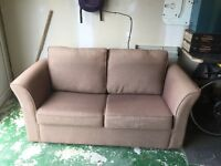 Good condition 2 seater sofa bed free to collecter