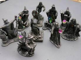 Myth and Magic ornaments
