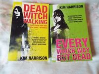 2 Kim Harrison books