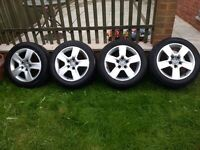 AUDI WHEELS AND TYRES 205/55/16