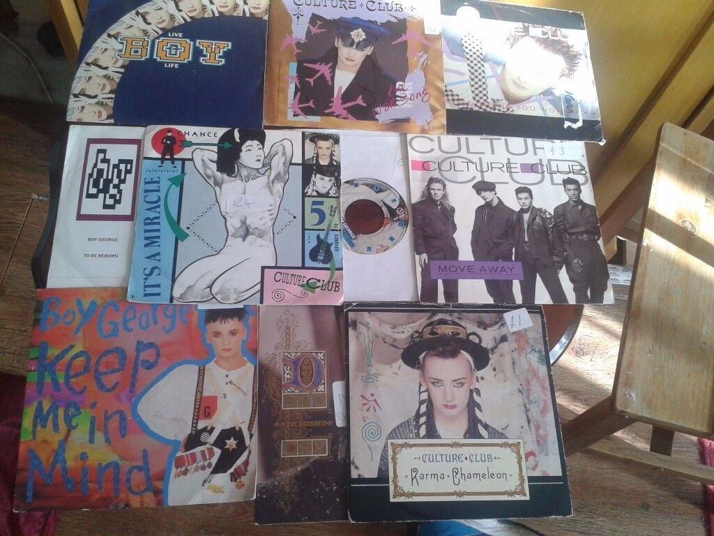 Boy George/Culture Club Vinyl Records x 11