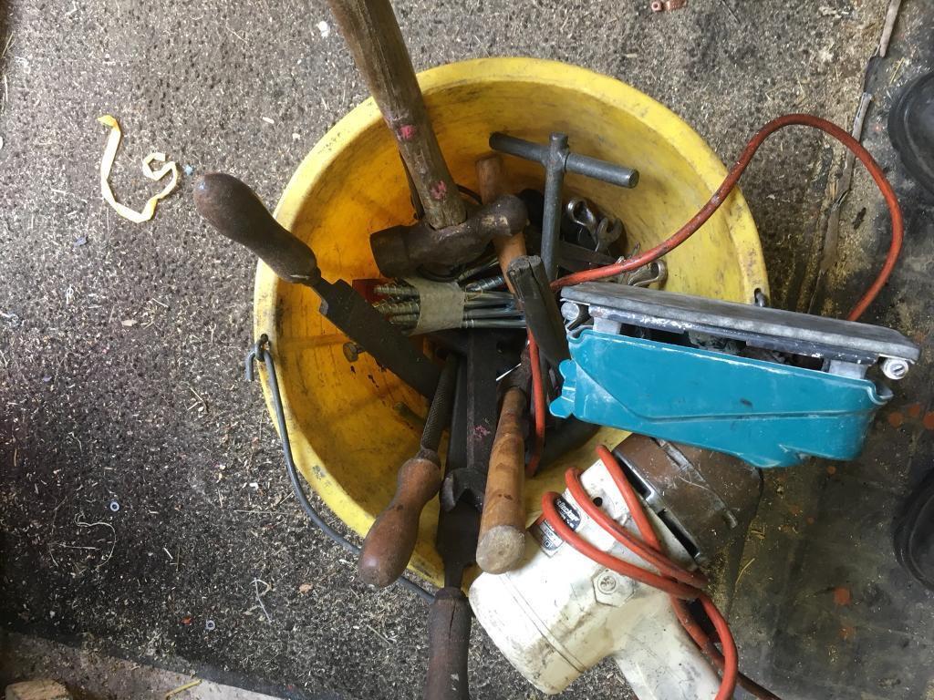 Bucket of tools £5