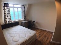 BIG Double * 5 min to Tube Zone 2 * Super Modern Flat * Bow Road between Stratford / Liverpool Str