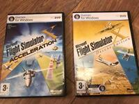 Microsoft Flight Simulator X Deluxe Edition + Acceleration (PC Games)