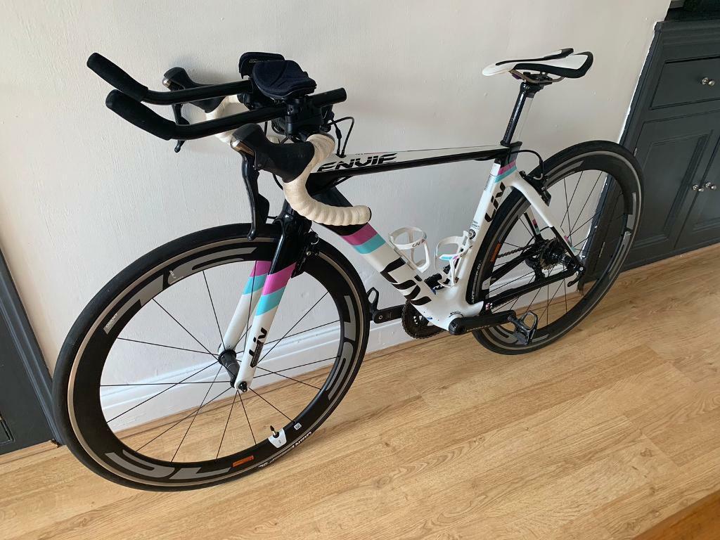 2d44719a88c Liv Envie Advanced 1 Tri Women's Aero Bike | in Newport | Gumtree