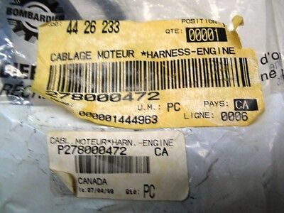Engine Electric Wiring Harness Seadoo Part Number 278000472