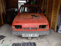 1990 Reliant Robin LX Project