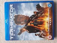 Terminator Genesys blu-ray, as new condition