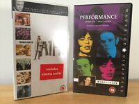 VHS Video Tapes 60'S COLLECTION ALFIE & PERFORMANCE