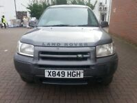 LAND ROVER FREELANDER S HARDBACK ESTATE 1796cc (2000) PETROL