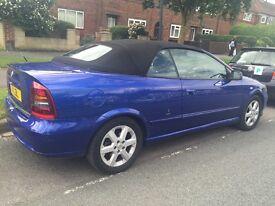 2003 Vauxhall Astra 1.8 convertible