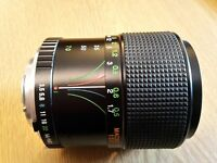 Mnolta MD Mount Quantaray Lens MF 28-70mm f3.5-4.5, mint conditions fully working, Manual Focus