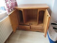 Small Solid Pine Cabinet