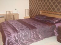 Part-time let: Mon-Fri. Extra large double room + en-suite (17' x 11'), off rd parking