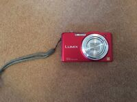 Digital camera - Panasonic Lumix DMC-SZ1 Ultra Compact Zoom & case