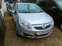 Vauxhall corsa 1.2 Only 75.000 miles one owner from new