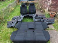 BMW 5 E39 series saloon seats