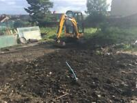 Mini digger jcb low hours