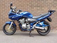 SUZUKI BANDIT GSF600S. NEW MOT, JUST HAD FULL SERVICE, MIGHT SWAP FOR SENSIBLE CAR.