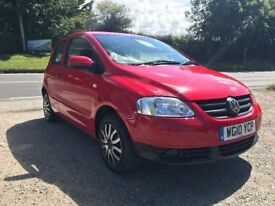 VOLKSWAGEN FOX 75 RED 3DR 1.4 2010