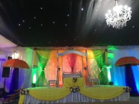 Wedding Decoration, Wedding Stages, Mehdi Stages, Catering, Floral and Balloon Decor. Videographic