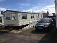 CARAVAN FOR HIRE TOWYN BROWNS HOLIDAY PARK NORTH WALES