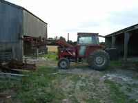 Massey Ferguson 590 Tractor With Loader