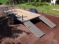Car Trailer Ideal For Golf Buggy/Quad Bikes,Motorcycles