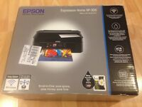 BLACK EPSON EXPRESSION HOME XP-305 WI-FI SMALL IN ONE LCD SCREEN PRINTER