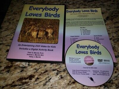 Bird Movie For Kids (Everybody Loves Birds DVD Entertaining DVD Video for Kids w/ Digital Activity)