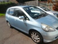 HONDA JAZZ SE 05 PLATE 2005 MOT EXPIRED SPARES OR REPAIRS