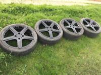 """Alloy Wheels 17"""" 4x108"""