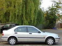 1999 Honda Civic 1.4i S Automatic.. ONLY 50,900 GENUINE VERY LOW MILES + SUPERB EXAMPLE..