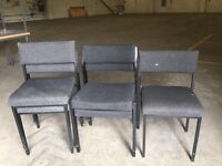 5 padded chairs