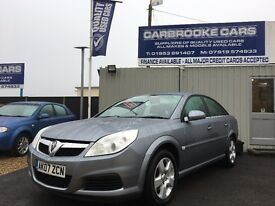 2007 07 VAUXHALL VECTRA 1.8 EXCLUSIV - 77,000 - 12 MONTHS MOT - SERVICED - WARRANTY - GENUINE CAR .