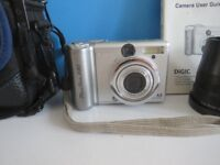Canon Powershot A80 4mp digital camera in excellent condition & full working order