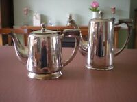 Silver plated tea set, 5 pieces, perfect for afternoon tea