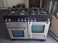 RANGE MASTER 6 BURNER RANGE COOKER WITH DOUBLE OVEN, GRILL AND PAN DRAWER £400 CAN DELIVER - AT COST