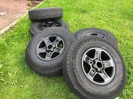Land Rover boost alloy wheels