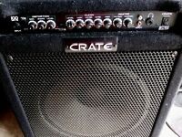 CRATE BT100 BASS AMP