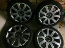 """Audi rs4/a4/tt 17""""alloy wheels"""