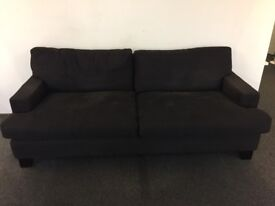 3 Seater Sofa in Navy Blue